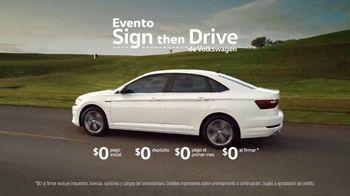 Volkswagen Evento Sign Then Drive TV Spot, 'Clasificaciones: sedanes' [Spanish] [T2] - Thumbnail 5