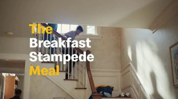 McDonald's TV Spot, 'The Breakfast Stampede Meal: Chicken McGriddle, McChicken Biscuit and Soda' - Thumbnail 6