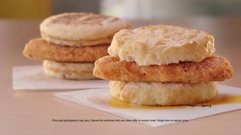 McDonald's TV Spot, 'The Breakfast Stampede Meal: Chicken McGriddle, McChicken Biscuit and Soda' - Thumbnail 7