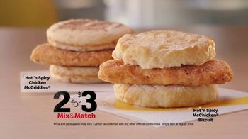 McDonald's TV Spot, 'The Breakfast Stampede Meal: Chicken McGriddle, McChicken Biscuit and Soda' - Thumbnail 8
