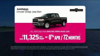 AutoNation Chrysler Dodge Jeep Ram Truck Month TV Spot, 'Go Time: 2021 1500 Big Horn' - Thumbnail 3
