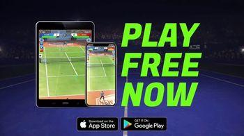 Tennis Clash TV Spot, 'Volley: Play Free Now' - Thumbnail 6