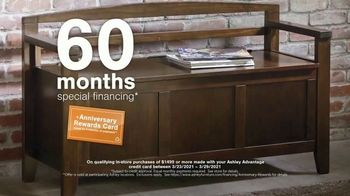 Ashley HomeStore Anniversary Sale TV Spot, 'Ends Monday: 25% Off and Special Financing' - Thumbnail 5