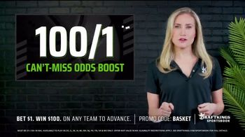 DraftKings Sportsbook TV Spot, 'Can't-Miss Odds Boost'