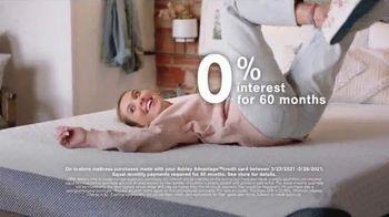Ashley HomeStore Anniversary Mattress Sale TV Spot, '0% Interest and $300 Ashley Cash' - Thumbnail 3