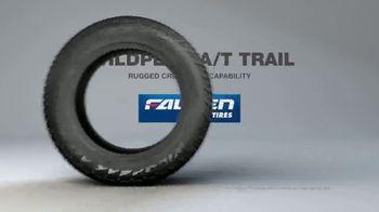Falken Tire Wildpeak A/T Trail TV Spot, 'All Weather Capability' - Thumbnail 8