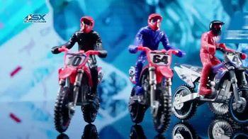 SX Supercross Die-Cast Bikes TV Spot, 'Supercross In Your Hands!' - 29 commercial airings