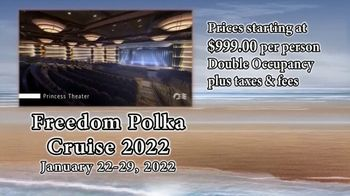 United Polka Artists TV Spot, 'Freedom Polka Cruise 2022' - 10 commercial airings
