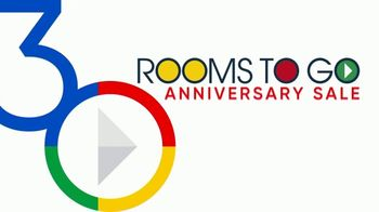 Rooms to Go 30th Anniversary Sale TV Spot, 'Cindy Crawford Home San Francisco Dining Room: $855' Song by Junior Senior - Thumbnail 2