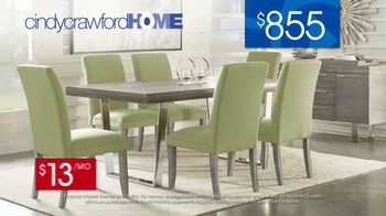 Rooms to Go 30th Anniversary Sale TV Spot, 'Cindy Crawford Home San Francisco Dining Room: $855' Song by Junior Senior - Thumbnail 7