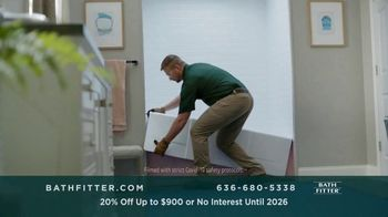 Bath Fitter TV Spot, 'Fits Your Schedule: 20% Off Up to $900 - Thumbnail 1