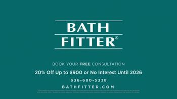 Bath Fitter TV Spot, 'Fits Your Schedule: 20% Off Up to $900 - Thumbnail 9
