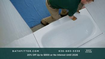 Bath Fitter TV Spot, 'Fits Your Schedule: 20% Off Up to $900 - Thumbnail 3