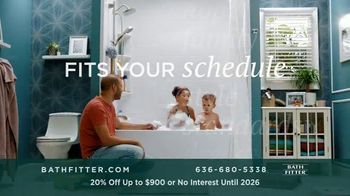 Bath Fitter TV Spot, 'Fits Your Schedule: 20% Off Up to $900