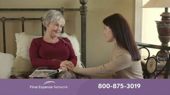 Final Expense Network Life Insurance TV Spot, 'End of Life Talk With Mom'