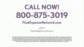Final Expense Network Life Insurance TV Spot, 'End of Life Talk With Mom' - Thumbnail 6