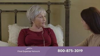 Final Expense Network Life Insurance TV Spot, 'End of Life Talk With Mom' - Thumbnail 2
