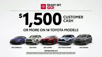 Toyota Ready Set Go! TV Spot, 'Imagine: Snow' [T2] - Thumbnail 6