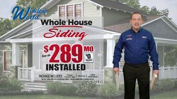 Window World TV Spot, 'Whole House Siding: $289' - Thumbnail 1