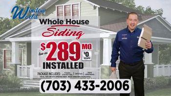 Window World TV Spot, 'Whole House Siding: $289' - Thumbnail 3