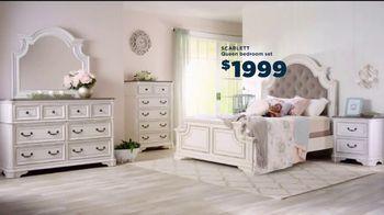 Bob's Discount Furniture TV Spot, 'Scarlett Queen Bedroom Set: $1999' - Thumbnail 7