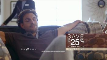 La-Z-Boy Anniversary Sale TV Spot, \'Special Piece: Save 25%\'