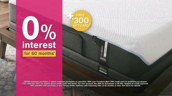 Ashley HomeStore Black Friday in July Mattress Sale TV Spot, 'Extended: $300 Gift Card' - Thumbnail 3