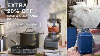 Macy's Big Home Sale TV Spot, 'Ninja, Bedding and Luggage' - Thumbnail 6