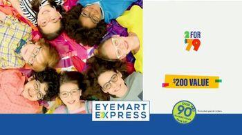 Eyemart Express TV Spot, 'Glasses for Classes: Two for $79: Frame Warranty' - Thumbnail 9