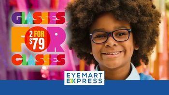 Eyemart Express TV Spot, 'Glasses for Classes: Two for $79: Frame Warranty' - Thumbnail 3