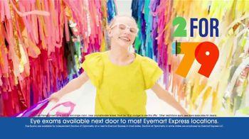 Eyemart Express TV Spot, 'Glasses for Classes: Two for $79: Frame Warranty' - Thumbnail 5