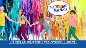 Eyemart Express TV Spot, 'Glasses for Classes: Two for $79: Frame Warranty' - Thumbnail 6