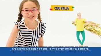 Eyemart Express TV Spot, 'Glasses for Classes: Two for $79: Frame Warranty' - Thumbnail 8