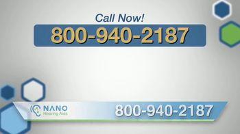 Nano Hearing Aids TV Spot, 'Don't Miss Out' - Thumbnail 7