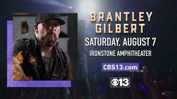 Brantley Gilbert TV Spot, 'CBS 13: 2021 Murphys: Ironstone Amphitheater: Win Tickets' - Thumbnail 10