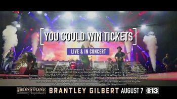 Brantley Gilbert TV Spot, 'CBS 13: 2021 Murphys: Ironstone Amphitheater: Win Tickets' - Thumbnail 6