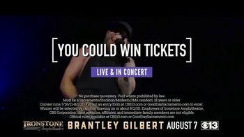 Brantley Gilbert TV Spot, 'CBS 13: 2021 Murphys: Ironstone Amphitheater: Win Tickets' - Thumbnail 7