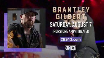Brantley Gilbert TV Spot, 'CBS 13: 2021 Murphys: Ironstone Amphitheater: Win Tickets' - Thumbnail 9