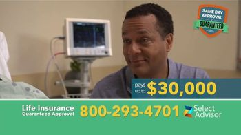 Select Advisor TV Spot, 'Final Expense Plans: Up to $30,000' - 3170 commercial airings