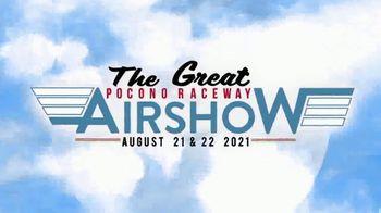 Pocono Raceway TV Spot, '2021 Great Pocono Raceway Airshow' - Thumbnail 2