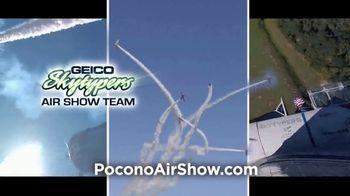 Pocono Raceway TV Spot, '2021 Great Pocono Raceway Airshow' - Thumbnail 4