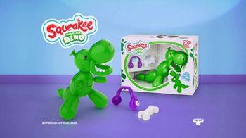 Squeakee Dino TV Spot, 'Your Balloon Dinosaur Best Friend' - Thumbnail 9
