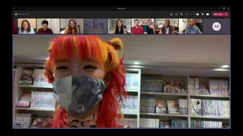 Microsoft Teams TV Spot, 'Tokyo: Cat Cafe' - Thumbnail 2
