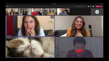 Microsoft Teams TV Spot, 'Tokyo: Cat Cafe' - Thumbnail 3