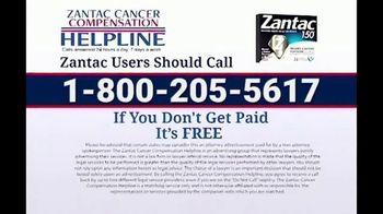 Zantac Helpline TV Spot, 'Cancer Compensation' - Thumbnail 10