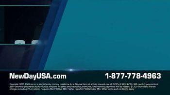 NewDay USA VA Streamline Refi TV Spot, 'Great News: 2.25%'