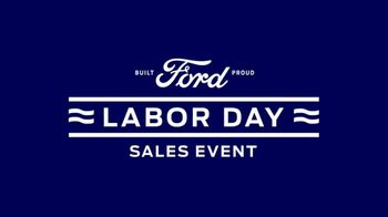 Ford Labor Day Sales Event TV Spot, 'Find the Ford for You' [T2] - Thumbnail 2