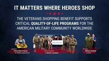 The Exchange TV Spot, 'Veterans Shopping Benefit' - Thumbnail 4
