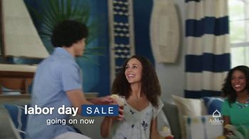 Ashley HomeStore Labor Day Sale TV Spot, 'Save up to 20% off and 0% Interest' - Thumbnail 3