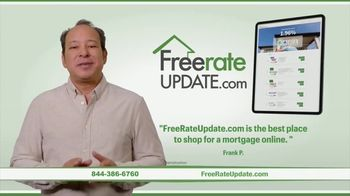 FreeRateUpdate.com TV Spot, 'Shop for a Mortgage Online' - Thumbnail 2